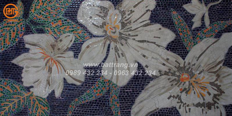 6 cách sử dụng gạch gốm mosaic Bát Tràng ốp lát trang trí phòng tắm