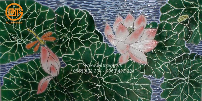 Gạch mosaic gốm Bát Tràng - Phong cách trang trí nội thất mới nhất