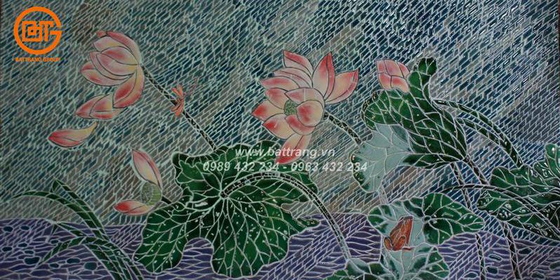 11 bước thi công ốp lát gạch mosaic gốm cùng Sứ Bát Tràng Group